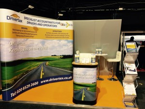 Pop Up Exhibition Stand 3 metres by 3 metres