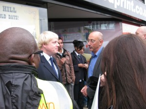 Boris Johnson visits Speedprint 2011