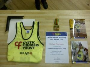 Framing Marathon Medals, Vest and Certificate - planning stage